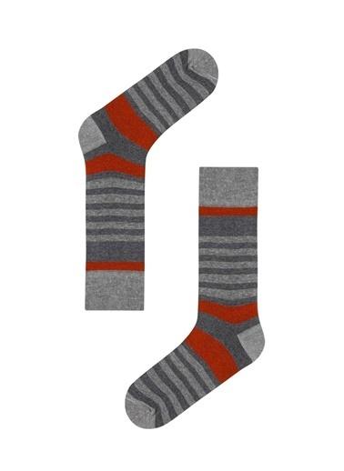 Penti Multi Erkek Dad Son 3Lü Soket Çorap Gri